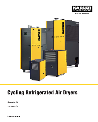 Cycling Refrigerated Air Dryers on
