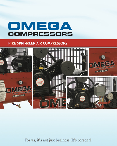 Omega Fire sprinkler Air compressors
