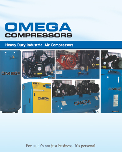 Omega Heavy duty industrial Air Compressors