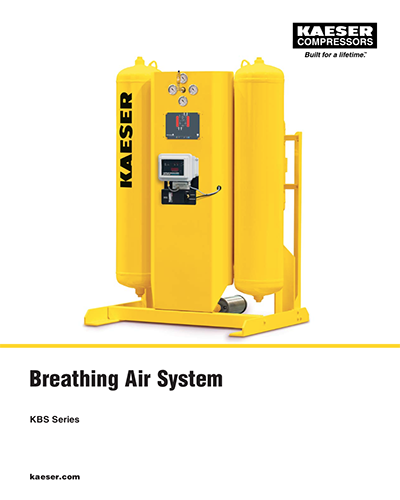 Breathing air system